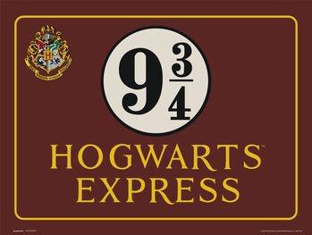 Reproducción de arte Harry Potter - Hogwarts Express