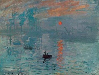 Lámina Impression, Sunrise - Impression, soleil levant, 1872