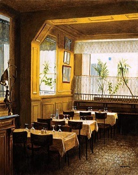 Reproducción de arte Interieur Restaurant Polidor