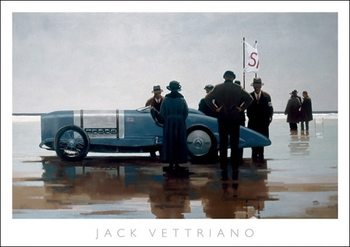 Reproducción de arte  Jack Vettriano - Pendine Beach