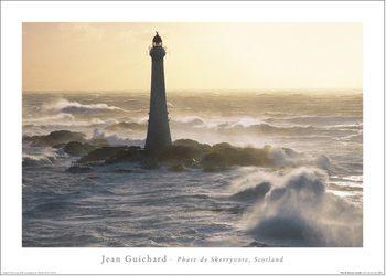 Reproducción de arte  Jean Guichard - Phare De Skerryvore, Scotland