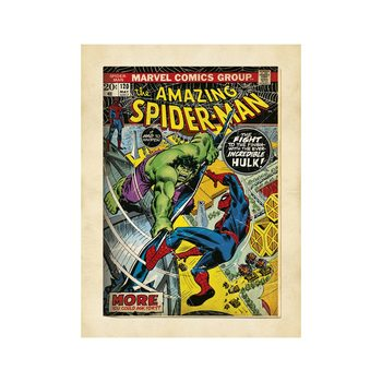 Reproducción de arte  Marvel Comics - Spiderman