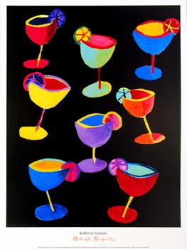 Reproducción de arte Midnight Margaritas