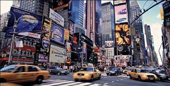 Lámina Nueva York - Times Square