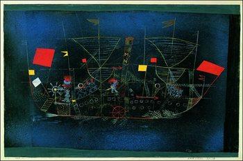 Reproducción de arte P.Klee - Das Abenteurershiff