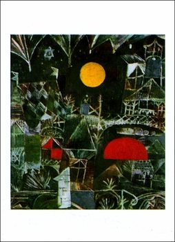Reproducción de arte P.Klee - Mondaufgang