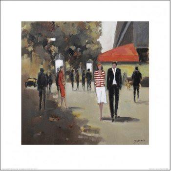 Reproducción de arte París - Café De La Paix