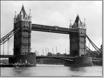 Reproducción de arte  Philip Gendreau - View Of Tower Bridge