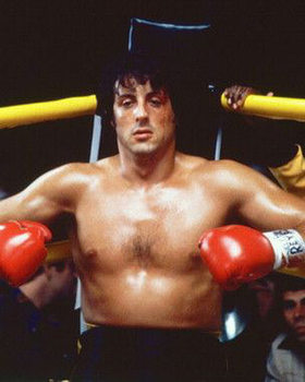Reproducción de arte Rocky II.