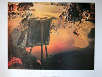 Reproducción de arte  Salvador Dali - Impressions D Afrique