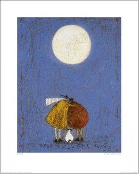 Reproducción de arte Sam Toft - A Moon To Call Their Own