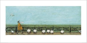 Reproducción de arte  Sam Toft - Moses Follows That Picnic Basket