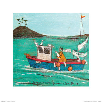 Reproducción de arte  Sam Toft - Searching For The Legendary Sea Pasty