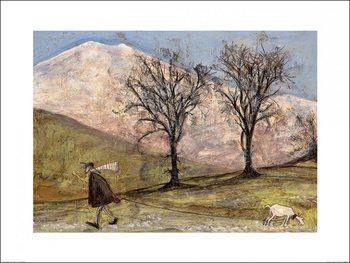 Reproducción de arte Sam Toft - Walking with Mansfield