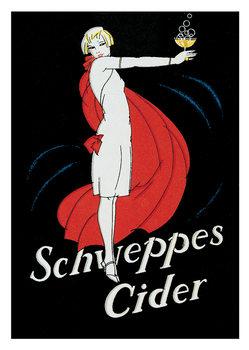 Reproducción de arte Schweppes cider