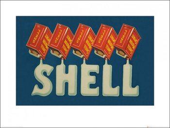 Lámina Shell - Five Cans 'Shell', 1924