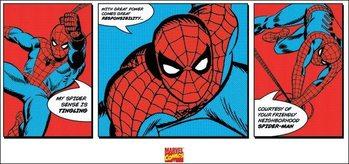 Reproducción de arte Spider-Man - Triptych