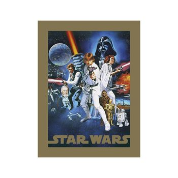 Reproducción de arte Star Wars - A New Hope