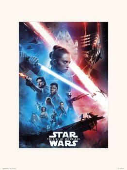 Reproducción de arte Star Wars: El ascenso de Skywalker - One Sheet
