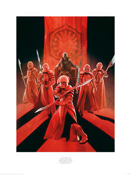 Reproducción de arte Star Wars: Episodio VIII - Los últimos Jedi - Snoke & Elite Guards