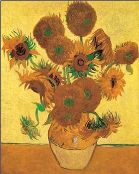 Lámina  Sunflowers, 1888
