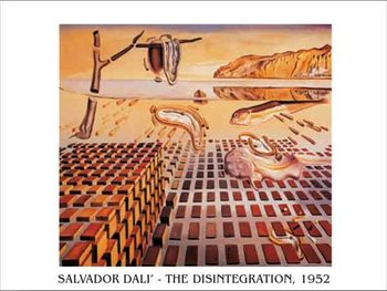Reproducción de arte  The Disintegration of the Persistence of Memory, 1952-54