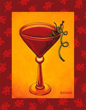 Reproducción de arte Tropical cocktail II