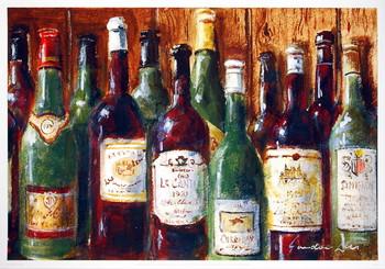 Reproducción de arte Wine Gathering