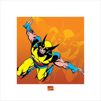 Reproducción de arte Wolverine - Marvel Comics