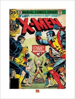 Lámina X-MEN