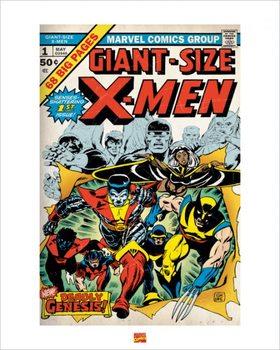 Reproducción de arte  X-Men
