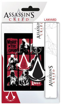 Lanyard, Porta Badge Assassins Creed - Logo
