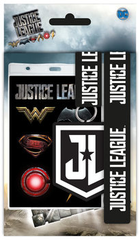 Lanyard, Porta Badge  Justice League - Movie Logo