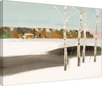 Bilden på canvas Law Wai Hin - Four Trees
