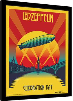 Πλαισιωμένη αφίσα Led Zeppelin - Celebration Day