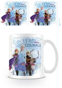 Hrnek Ledové království 2 (Frozen) - Lead With Courage