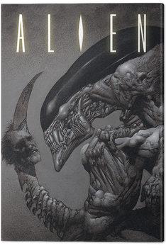 Leinwand Poster Alien - Head on Tail