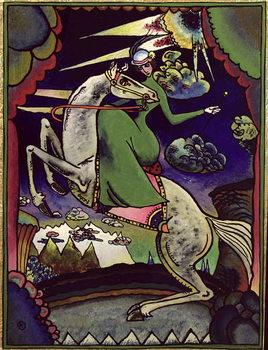 Leinwand Poster Amazonka in the Mountains, 1918