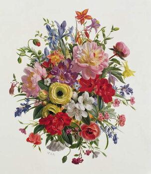 Leinwand Poster AP/264 A Fragrant June Bouquet