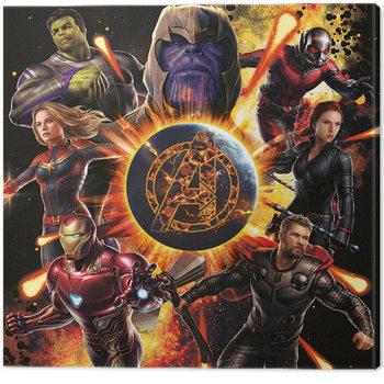 Leinwand Poster Avengers: Endgame - Explosion