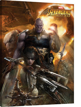 Leinwand Poster Avengers Infinity War - Children of Thanos