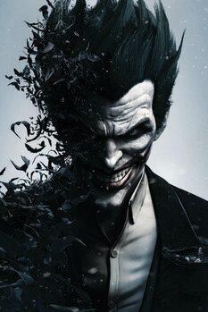 Leinwand Poster Batman Arkham - Joker