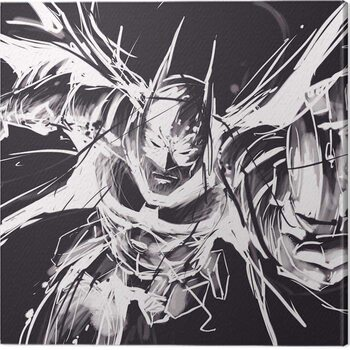 Leinwand Poster Batman Arkham Knight - Grapple
