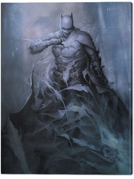 Leinwand Poster Batman - One with the Night