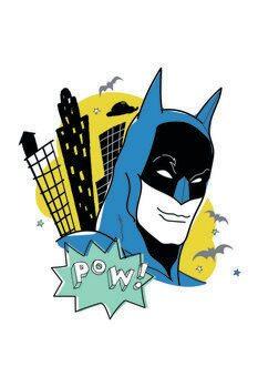 Leinwand Poster Batman - Sketch art