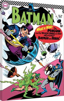 Leinwand Poster Batman - What a War