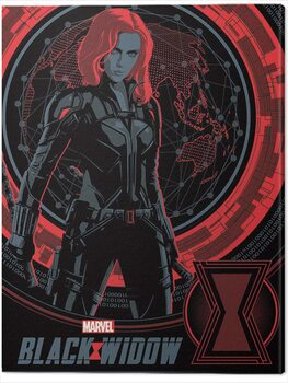 Leinwand Poster Black Widow - Off the Grid