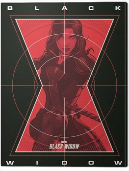 Leinwand Poster Black Widow - Target Acquired