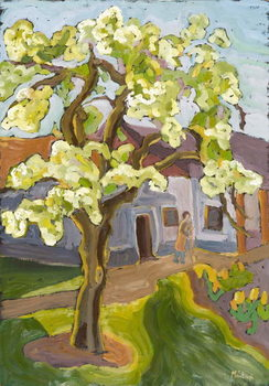Leinwand Poster Blooming Pear Tree, 2008
