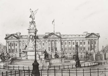 Leinwand Poster Buckingham Palace, London, 2006,
